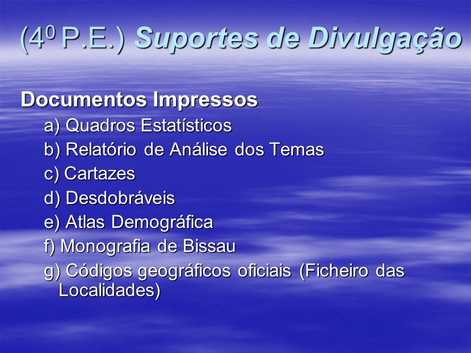 (40 P.E.) Suportes de Divulgação