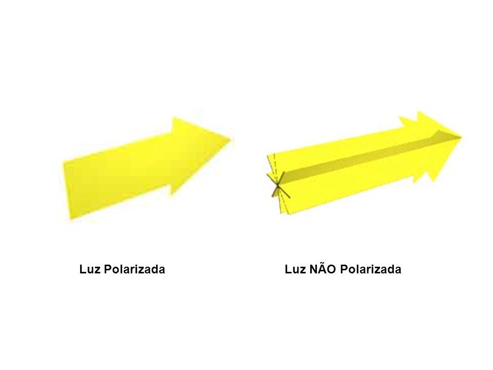 Luz Polarizada Luz NÃO Polarizada