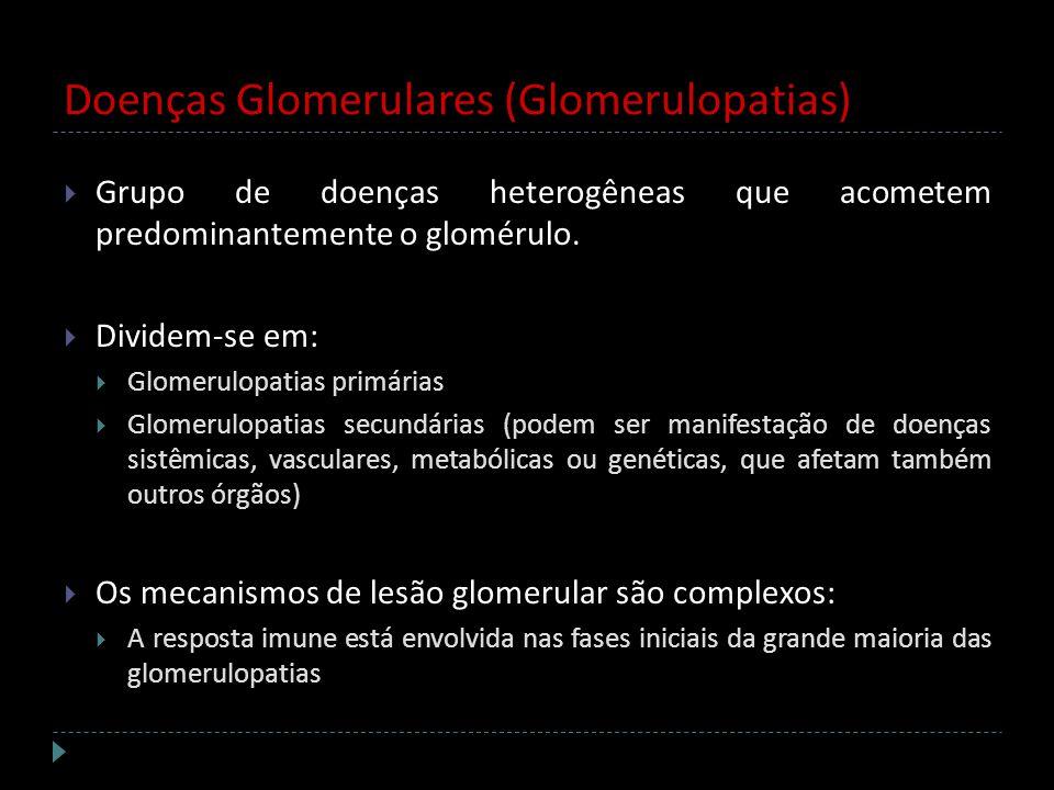 Doenças Glomerulares (Glomerulopatias)