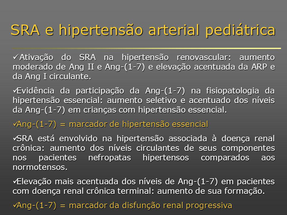 SRA e hipertensão arterial pediátrica