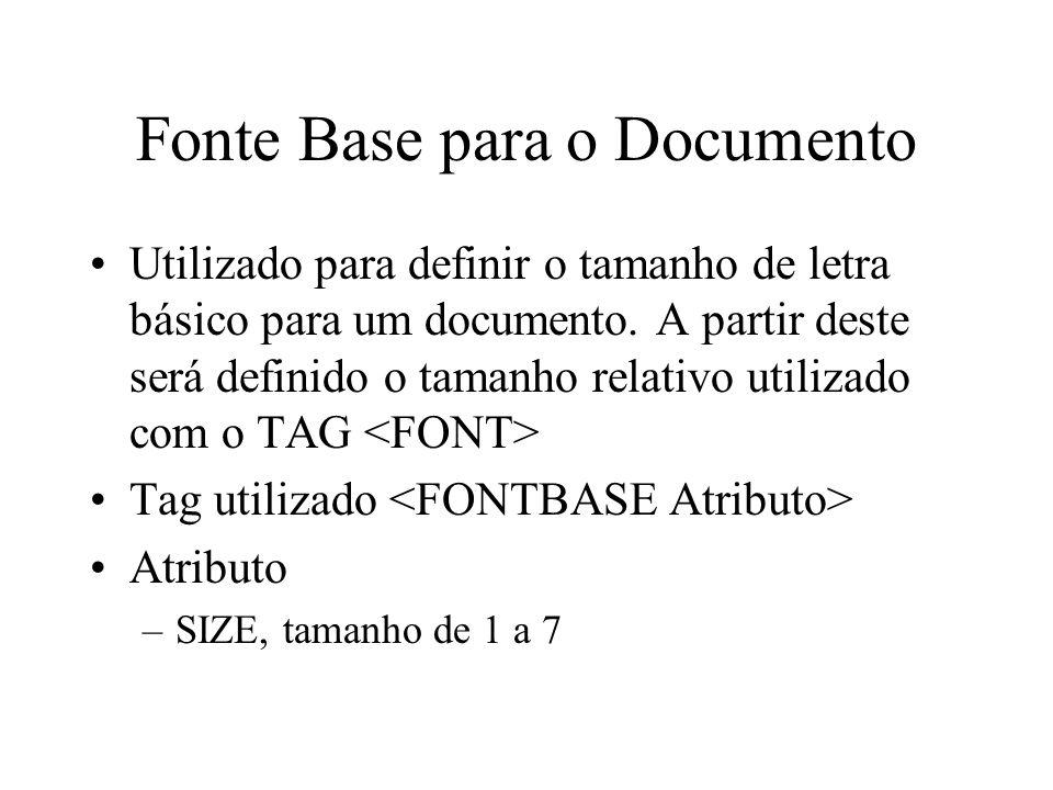 Fonte Base para o Documento