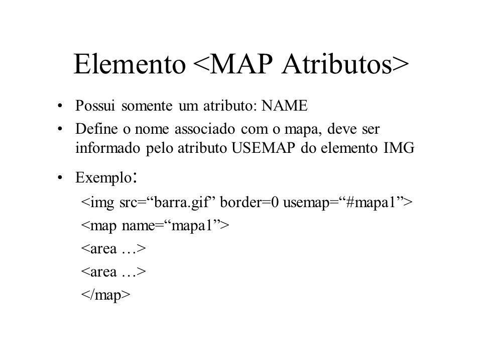 Elemento <MAP Atributos>