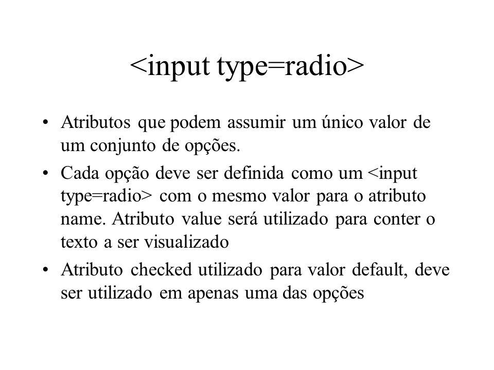 <input type=radio>