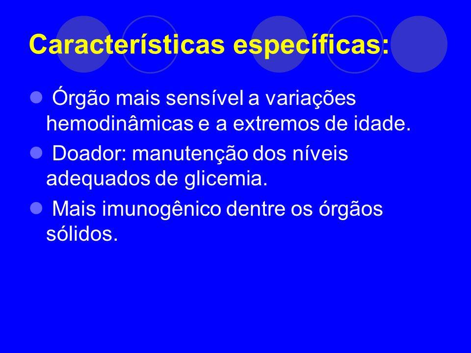 Características específicas:
