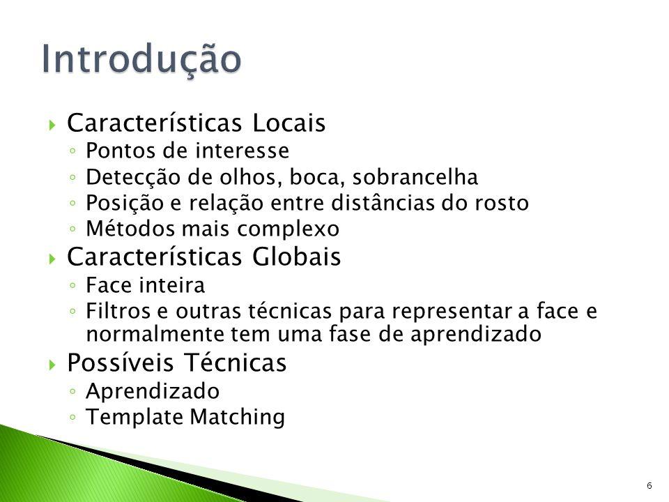 Introdução Características Locais Características Globais