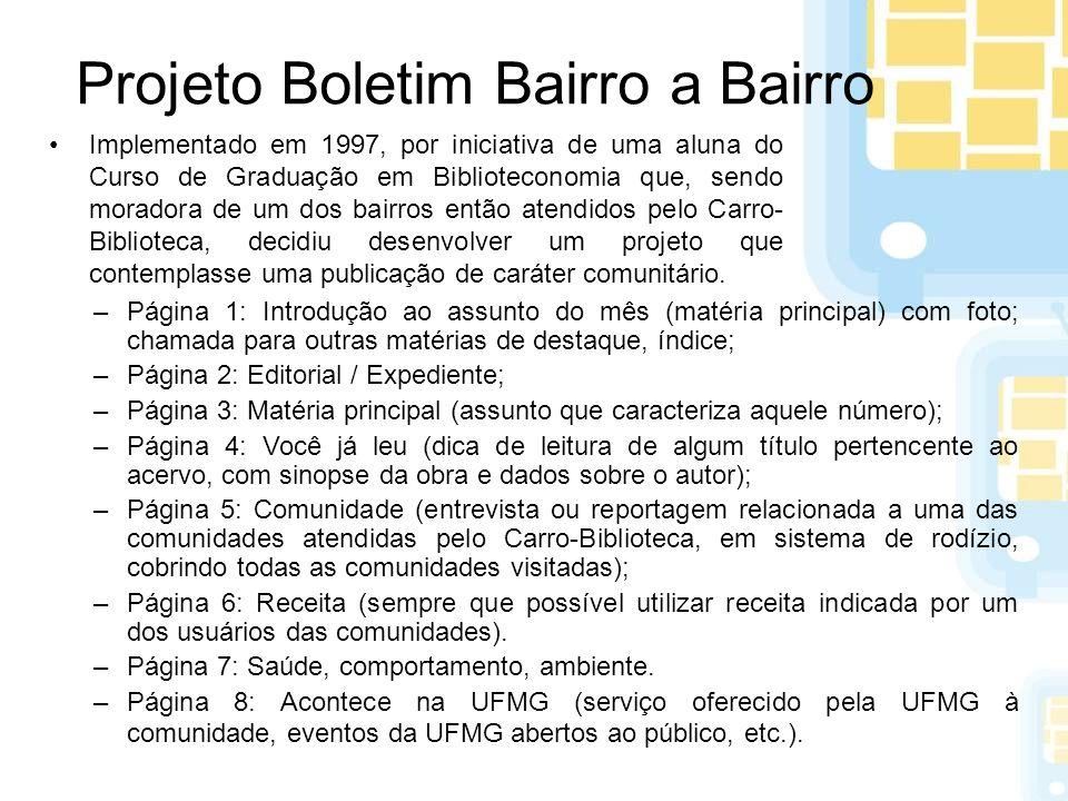 Projeto Boletim Bairro a Bairro