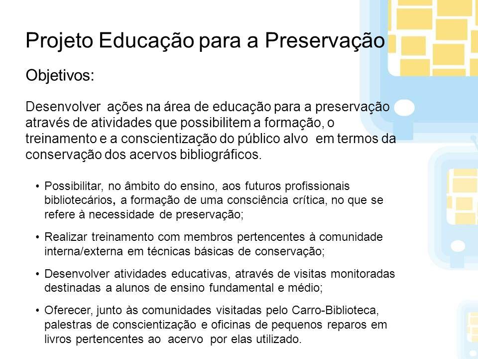 Projeto Educação para a Preservação