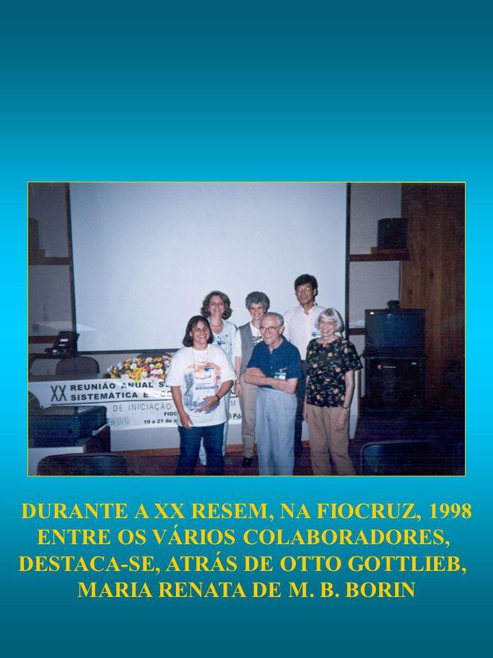 DURANTE A XX RESEM, NA FIOCRUZ, 1998 ENTRE OS VÁRIOS COLABORADORES,