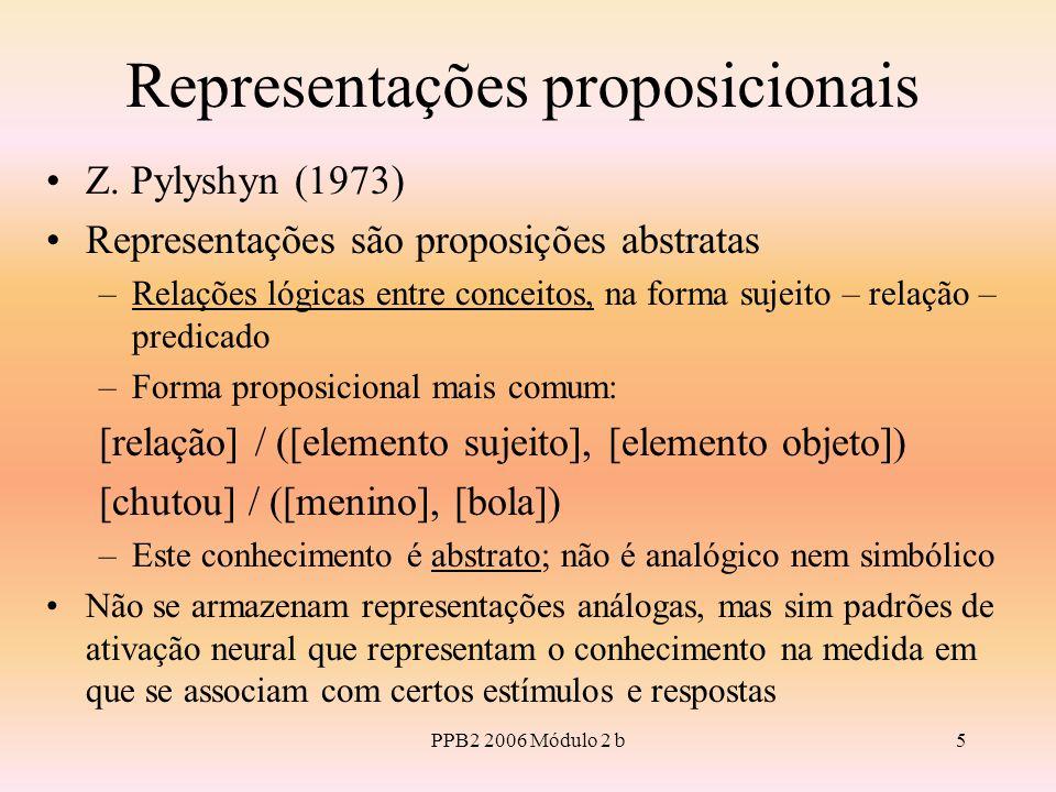 Representações proposicionais