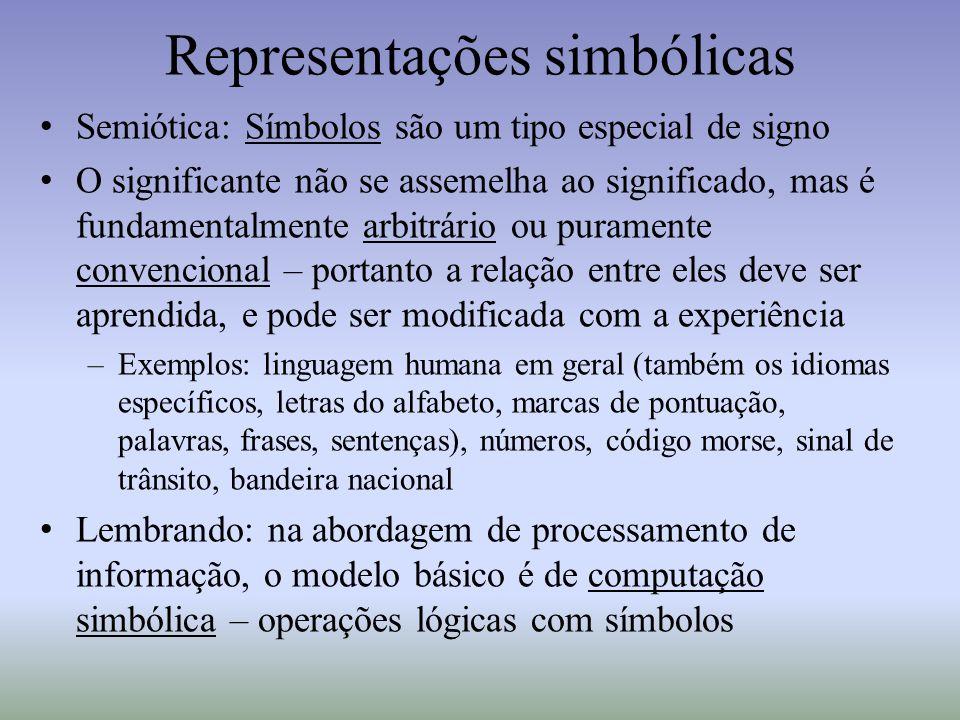 Representações simbólicas