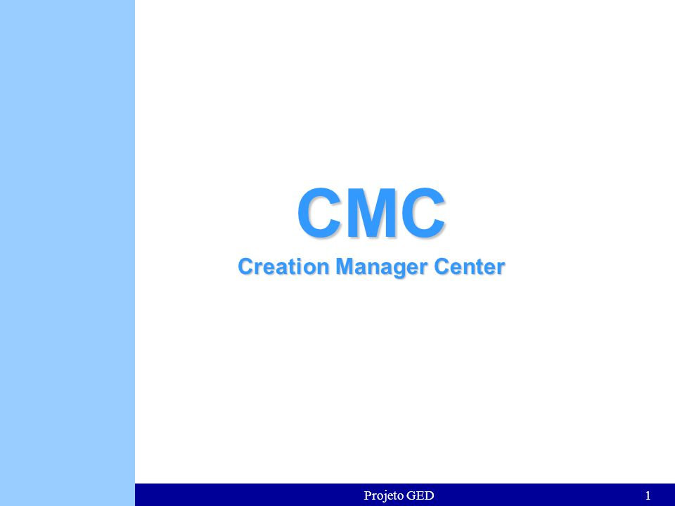 Creation Manager Center