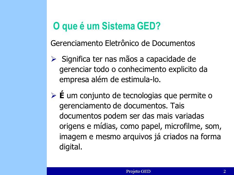 O que é um Sistema GED Gerenciamento Eletrônico de Documentos