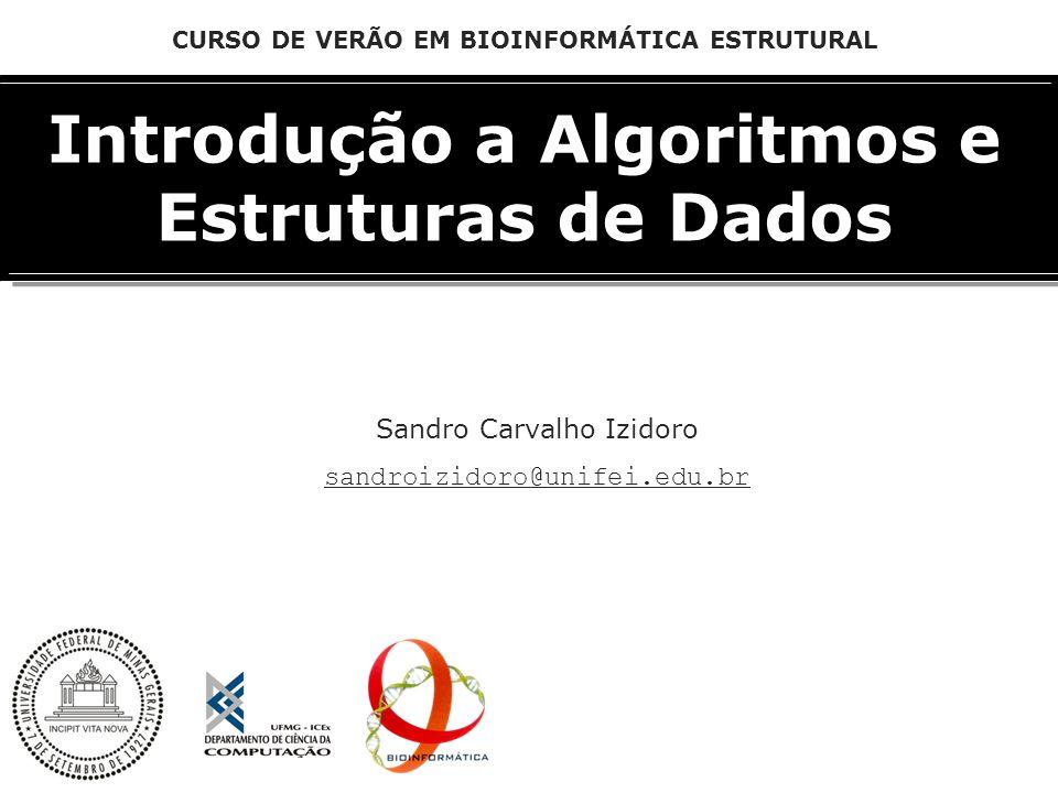 Introdução a Algoritmos e Estruturas de Dados