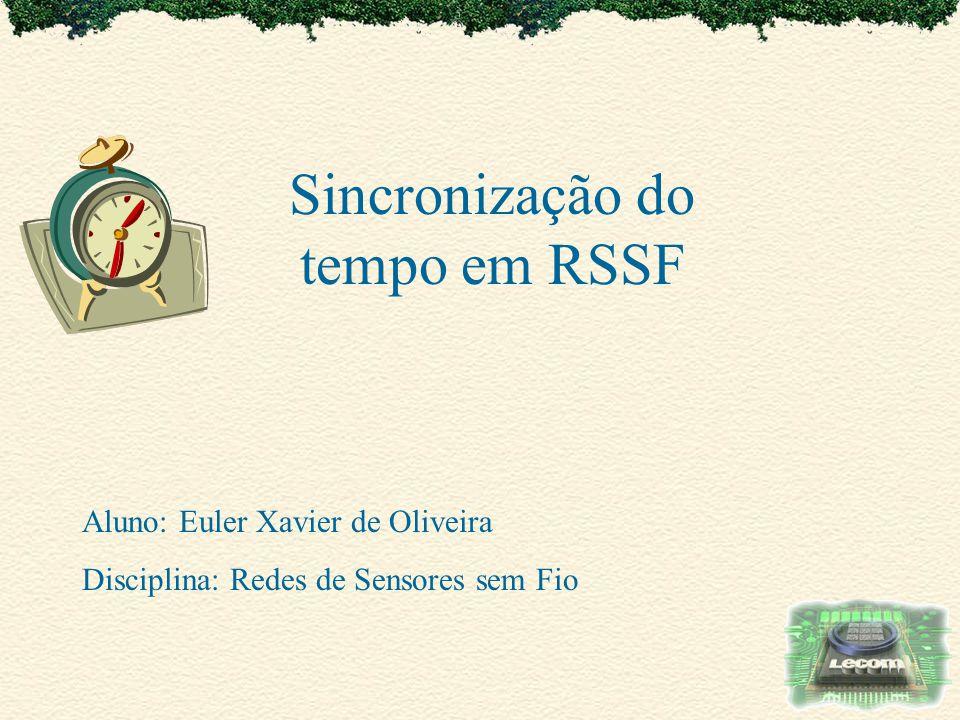 Sincronização do tempo em RSSF