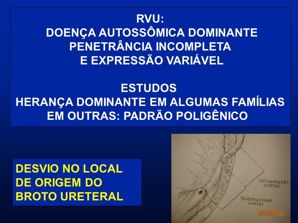 DOENÇA AUTOSSÔMICA DOMINANTE PENETRÂNCIA INCOMPLETA