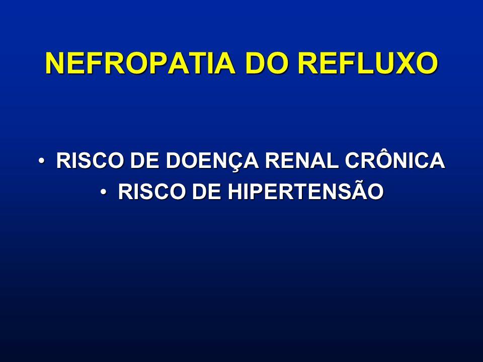 RISCO DE DOENÇA RENAL CRÔNICA