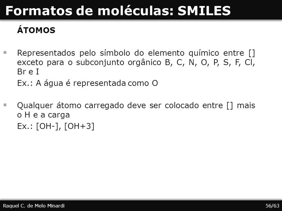 Formatos de moléculas: SMILES