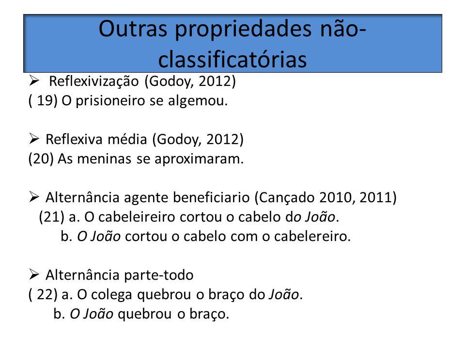 Outras propriedades não-classificatórias