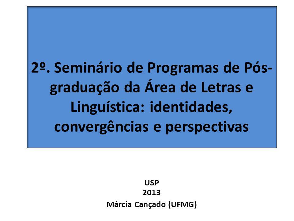USP 2013 Márcia Cançado (UFMG)