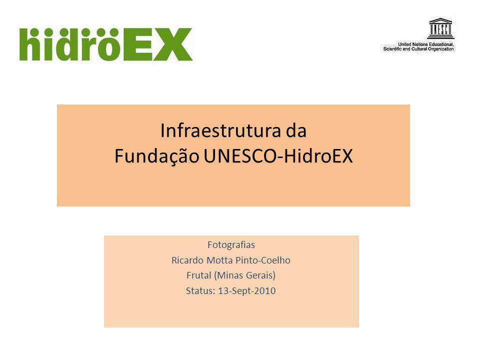 Infraestrutura da Fundação UNESCO-HidroEX