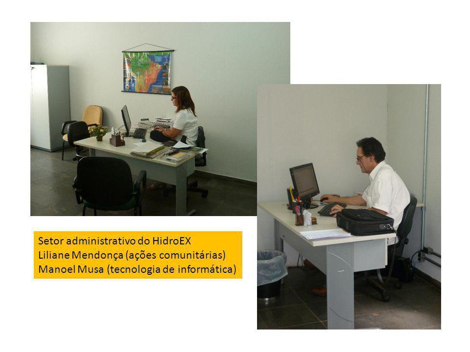 Setor administrativo do HidroEX