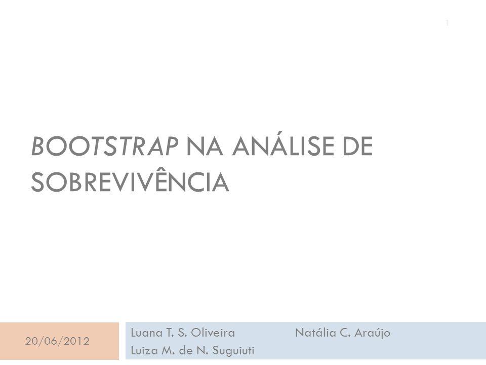 Bootstrap na análise de sobrevivência