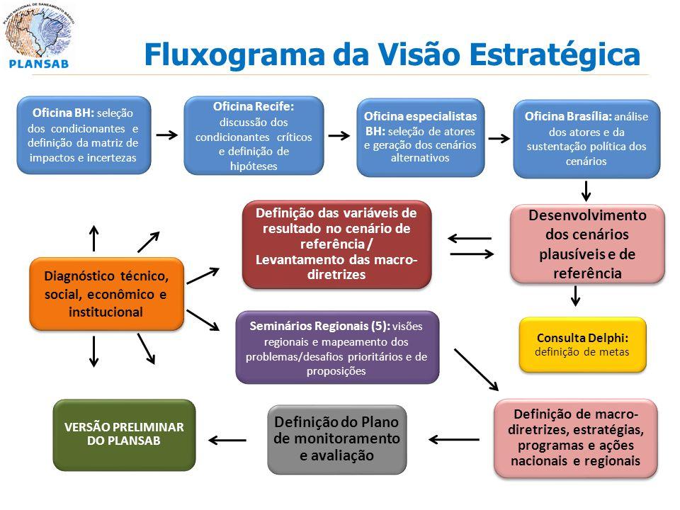 Fluxograma da Visão Estratégica