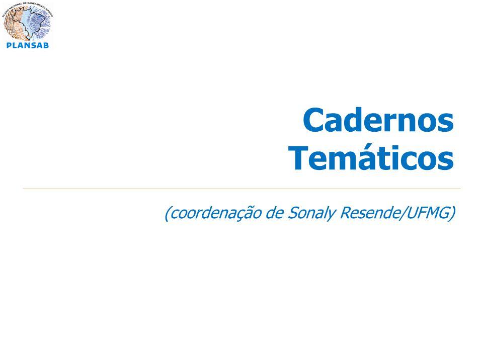 Cadernos Temáticos (coordenação de Sonaly Resende/UFMG)