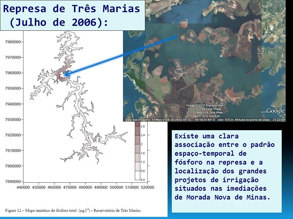 Represa de Três Marias (Julho de 2006):