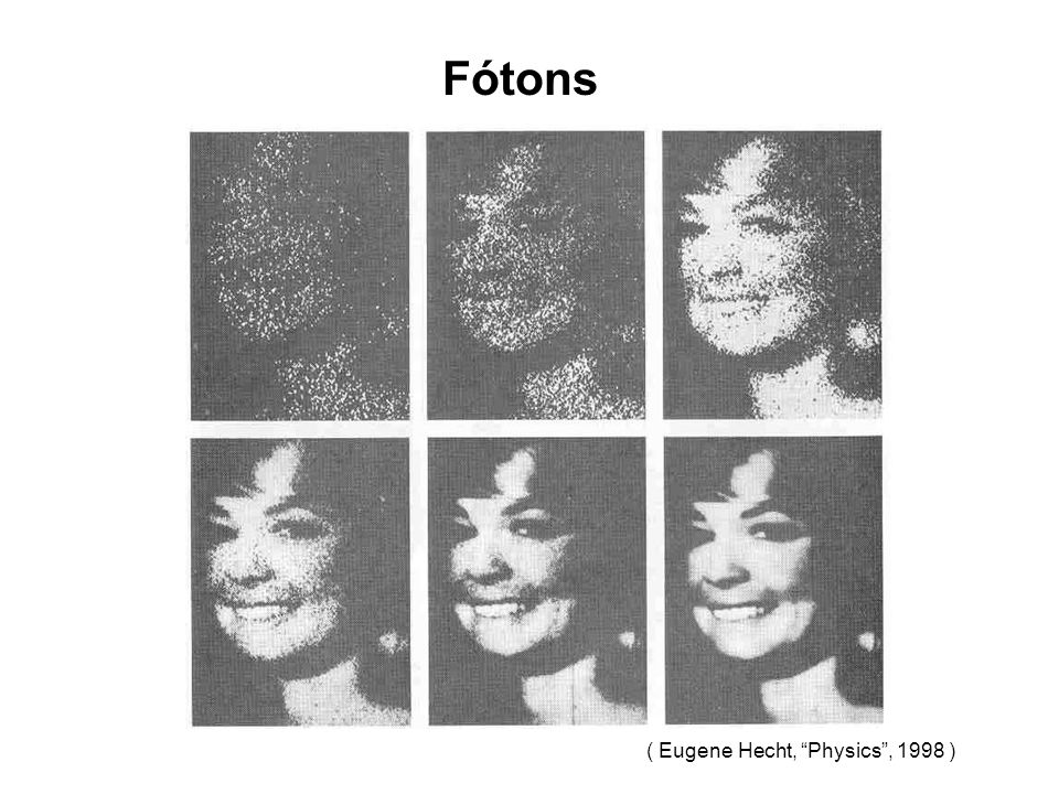 Fótons ( Eugene Hecht, Physics , 1998 )