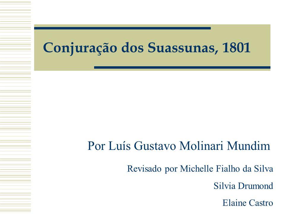 Conjuração dos Suassunas, 1801