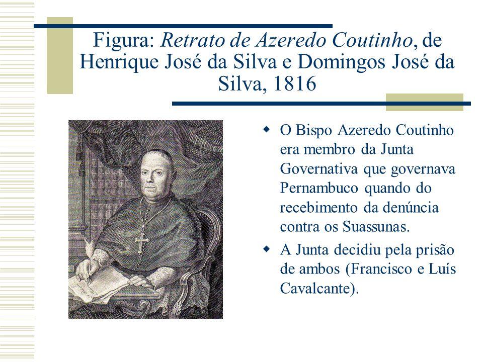Figura: Retrato de Azeredo Coutinho, de Henrique José da Silva e Domingos José da Silva, 1816