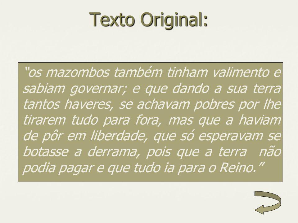 Texto Original: