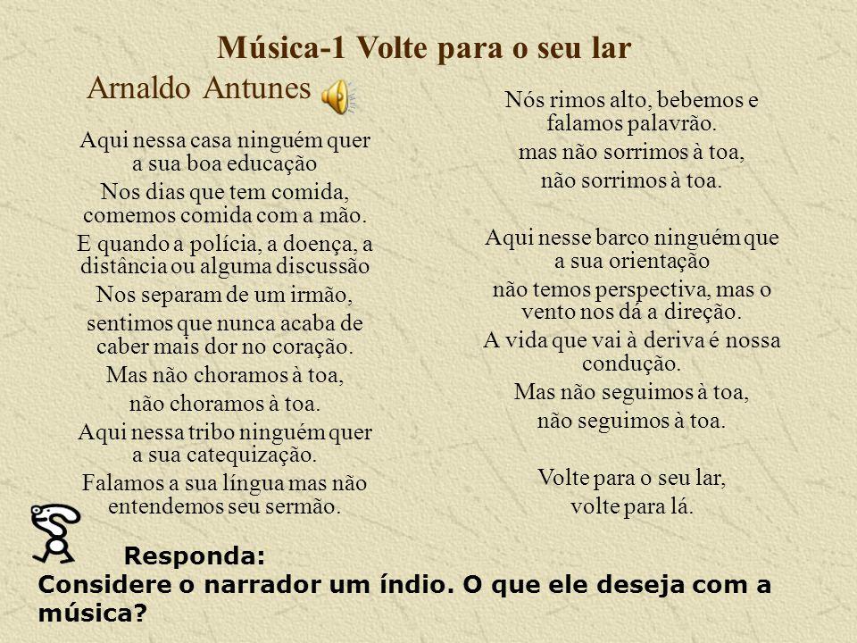 Música-1 Volte para o seu lar Arnaldo Antunes