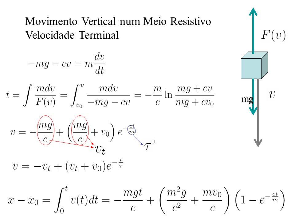 Movimento Vertical num Meio Resistivo Velocidade Terminal