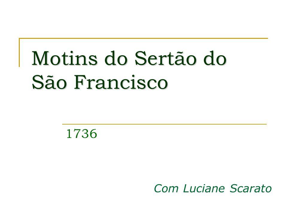 Motins do Sertão do São Francisco