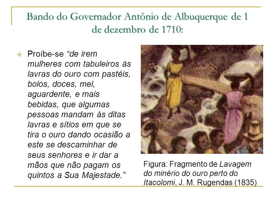 Bando do Governador Antônio de Albuquerque de 1 de dezembro de 1710: