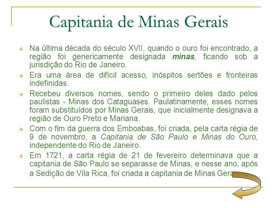 Capitania de Minas Gerais