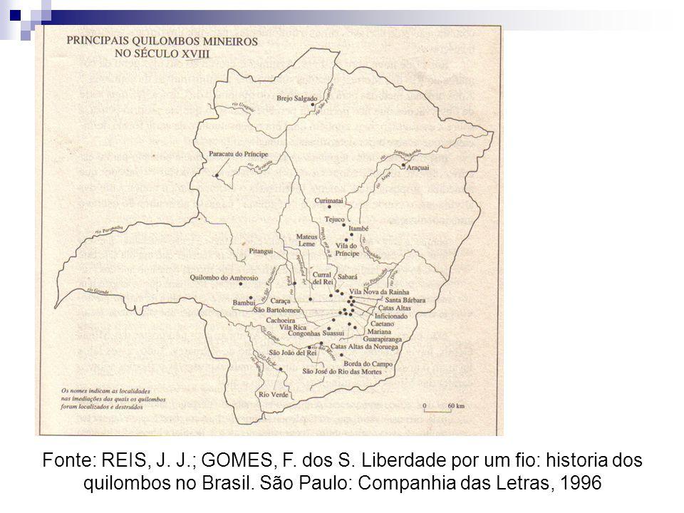 Fonte: REIS, J. J. ; GOMES, F. dos S