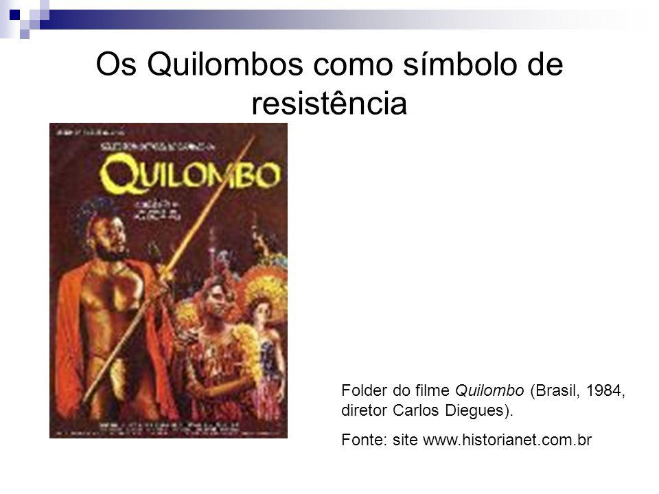 Os Quilombos como símbolo de resistência
