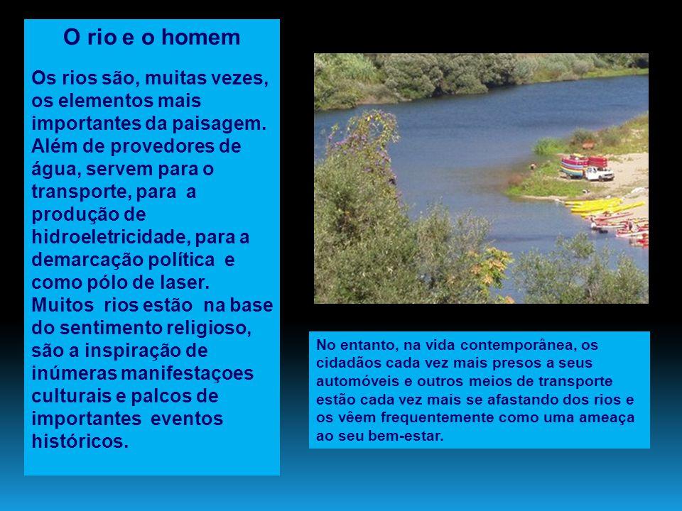 O rio e o homem
