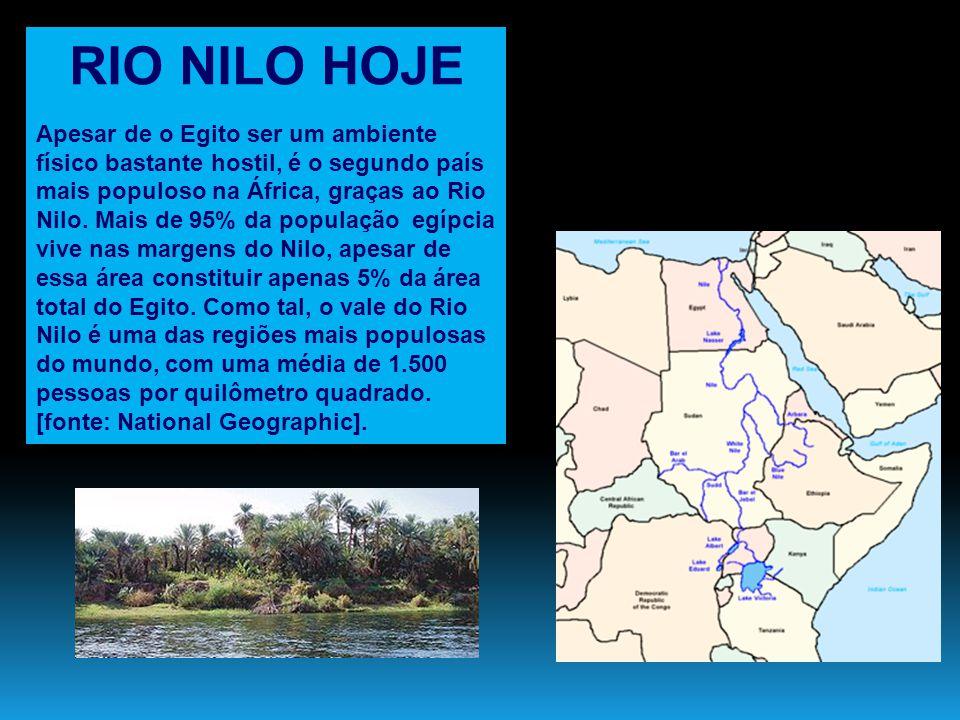 RIO NILO HOJE