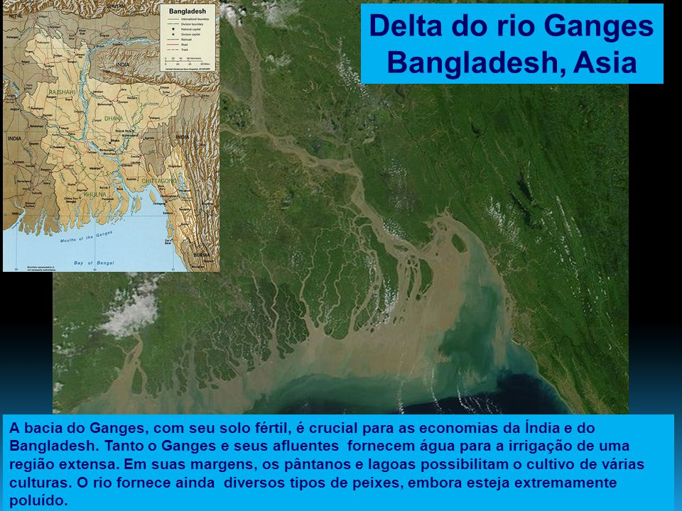 Delta do rio Ganges Bangladesh, Asia