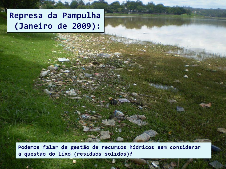 Represa da Pampulha (Janeiro de 2009):