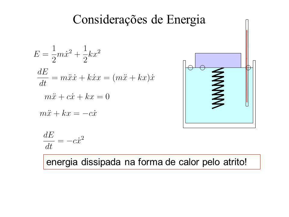 Considerações de Energia