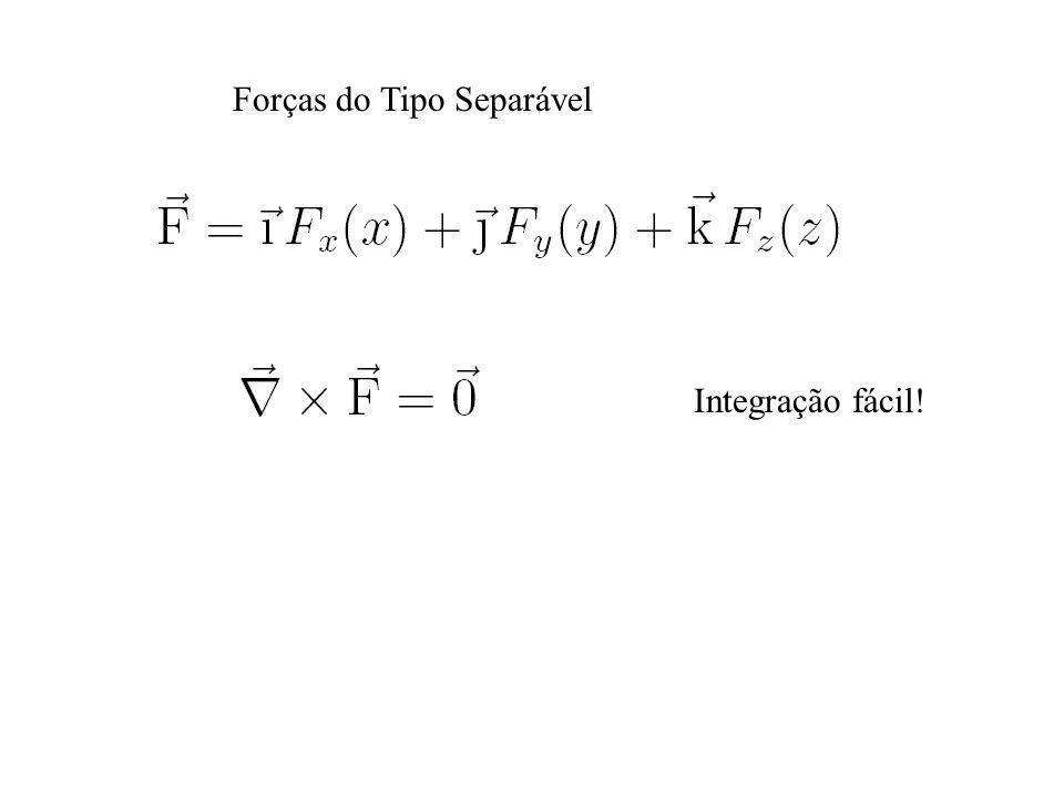 Forças do Tipo Separável