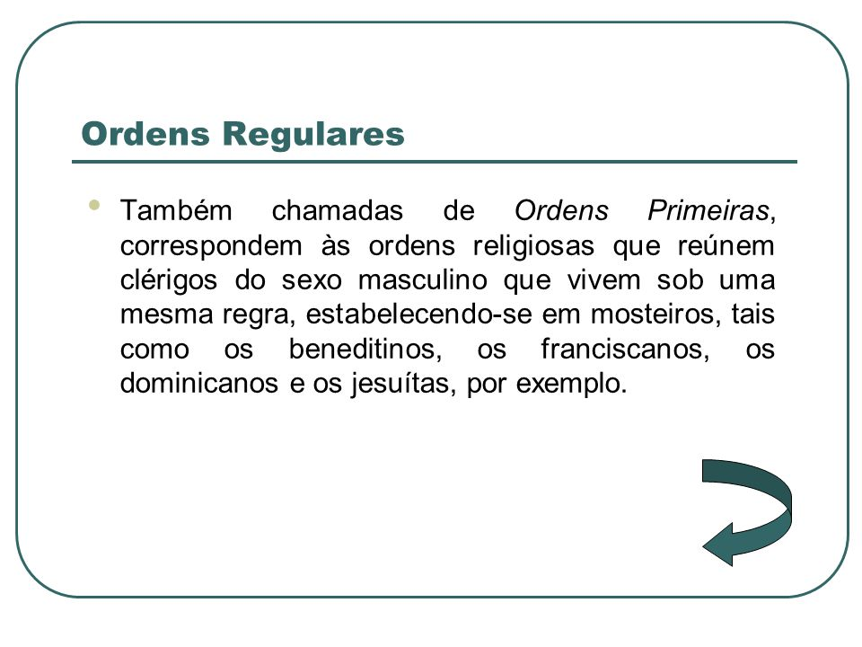 Ordens Regulares