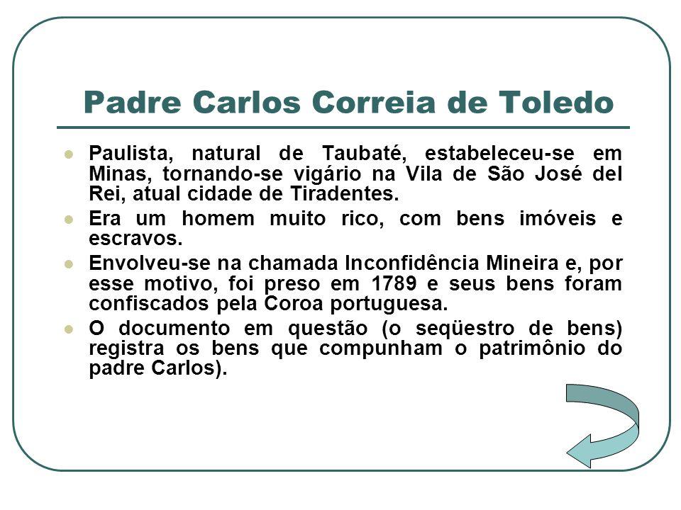 Padre Carlos Correia de Toledo