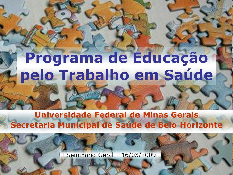 Programa de Educação pelo Trabalho em Saúde