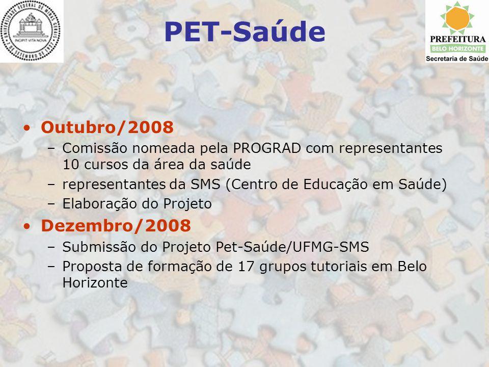 PET-Saúde Outubro/2008 Dezembro/2008